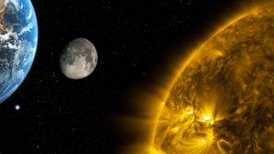 sole giove terra